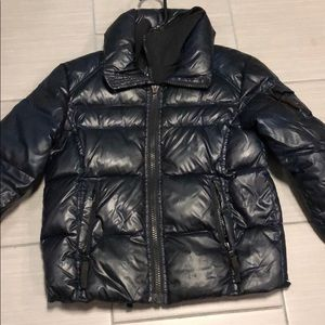 Other - SAM navy blue with black boys down jacket size 8
